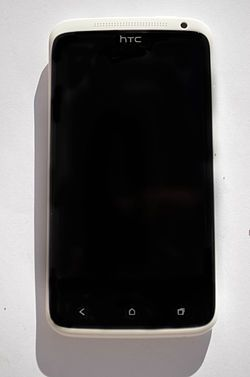 Front of a HTC One X.jpg